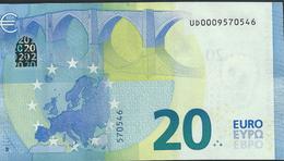 € 20  FRANCE  UD000  U004  DRAGHI  UNC - EURO