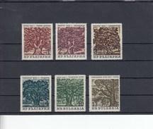 Bulgarie - Neufs**, Arbres  Année 1964 Y.T. 1296/1301 - Bulgaria