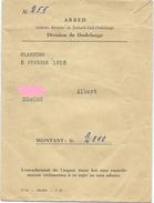 Dudelingen - ARBED - Division De Dudelange - 05-02-1958
