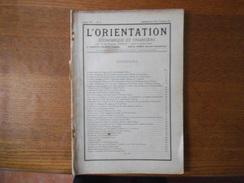 LE DEPARTEMENT DE LA VIENNE ANNEE 1931 L'ORIENTATION ECONOMIQUE ET FINANCIERE 136 PAGES MANQUE COUVERTURE - Rhône-Alpes