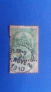 BELGIUM 1907 COAT OF ARMS - 1866-1867 Coat Of Arms