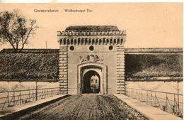 Allemagne. Germersheim. Weissenburger Tor - Germersheim