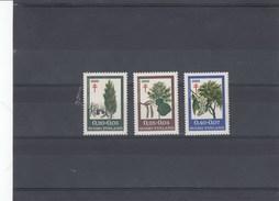 Finlande - Arbres, Neufs**  Année 1969 Y.T. 624/626