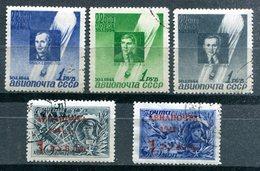 RUSSIE - Poste Aérienne Y&T 67 à 71 (deux Séries Complètes) (20% De La Cote)