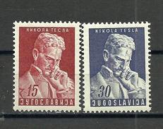 Yugoslavia 1953 MNH** - 1945-1992 Repubblica Socialista Federale Di Jugoslavia