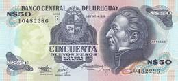 URUGUAY  50 NUEVOS PESOS  FDS - Uruguay