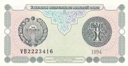 UZBEKISTAN  1 SUM  1994  FDS - Usbekistan