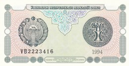 UZBEKISTAN  1 SUM  1994  FDS - Uzbekistan