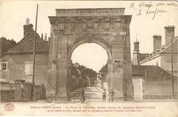 BAR-sur-SEINE  --  La Porte De Châtillon, Dernier Vestige De L'enceinte Fortifiée (1779) - Bar-sur-Seine