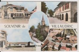 D31 - VILLAUDRIC - SOUVENIR DE VILLAUDRIC - MULTIVUES - CPSM Petit Format - France