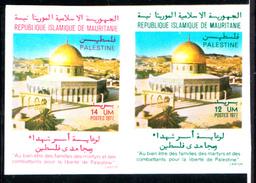 MAURITANIE - N° 377/378 - JOURNEE DE LA PALESTINE - NON DENTELE - LUXE - Islam