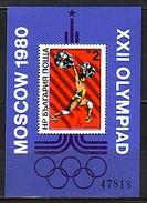BULGARIA / BULGARIE / BULGARIEN - 1979 - Jeux Olimpiques Moscuo´1980 V - Bl** Rare