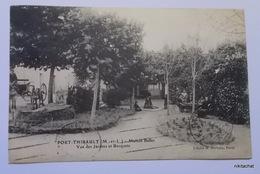 PORT THIBAULT-Maison Baffet-Vue Des Jardins Et Bosquets - Otros Municipios