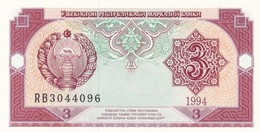 UZBEKISTAN  3 SUM  1994  FDS - Uzbekistan