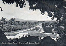 Caserta - Parco Reale - Il Corso Della Grande Cascata - Caserta