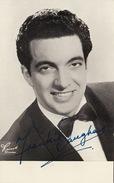Autographe De Frankie Vaughan
