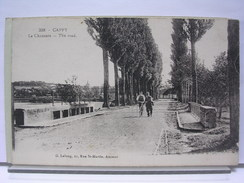 80 - CAPPY - LA CHAUSSEE - ANIMEE - France