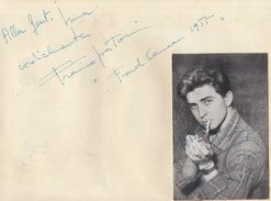 Autographe De Franco Pastorino - Autographs