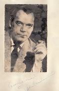 Autographe De Eddie Contantine - Autographs