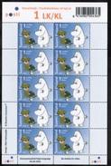 2004 Finland Moomin Sheet MNH.
