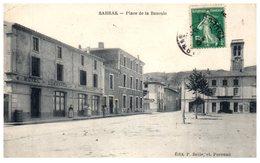 07 - SARRAS -- Place De La Bascule - Sonstige Gemeinden