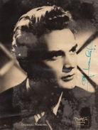 Autographe De Georges Marchal