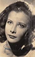 Autographe De Jeanne Moreau