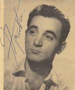 Autographe De Charles Aznavour - Handtekening