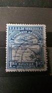RARE 1.95 BOLIVAR VENEZUELA CORREO AEREO AIRPLANE 1930  USED/MINT STAMP TIMBRE - Venezuela