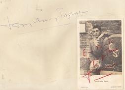 Autographe De Jean Claude Pascal
