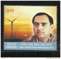 INDIA, 2004, Rajiv Gandhi And Renewable Day,  MNH, (**)