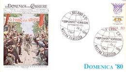 MILANO MOSTRA FILATELICA  1979 (LA DOMENICA DEL CORRIERE) (GEN170052) - Ciclismo