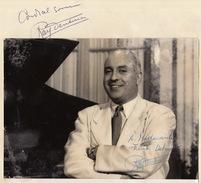 Autographe De Ray Ventura