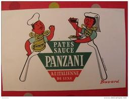 Buvard Pates Sauce Panzani. Illustré Morvan. Vers 1950 - P