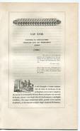1820 Story About The Wahhabite Chef Abdallah Wahhabism Saudi Arabia- Extract From Italian Volume - Fotografia