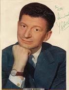 Autographe De Yves Robert