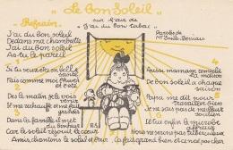 Santé - Anti-tuberculose - Chanson Soleil - Fillette Poupée - Santé