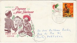 Cover FDC * Papua New Guinea * 1969 - Papouasie-Nouvelle-Guinée