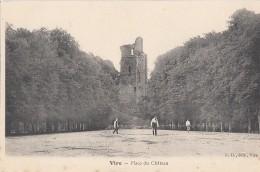 Vire 14 - Place Du Château - Edition L. D. - Badmington Tennis - Vire