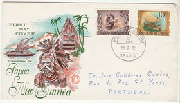 Cover FDC * Papua New Guinea * 1970 - Papouasie-Nouvelle-Guinée