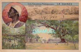 La Guinée - Les Colonies Française - Konakry - (Chromo) - (voir Scan). - Vieux Papiers