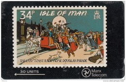 ISLE OF MAN(GPT) - IOM Stamps 4/Toast Rack, CN : 6IOMD, Tirage 15000, Used