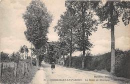 CORMEILLES En PARISIS -  La Route De Montigny - Cormeilles En Parisis