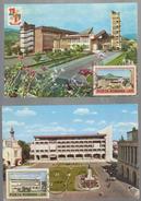 MAXIMUM CARD ROMANIA City -BUILDING OF THE POLITICAL ADMINISTRATIVE BOTOSANI AND TARGOVISTE - Maximumkarten (MC)