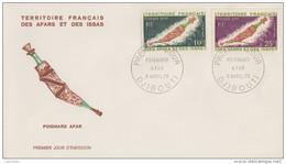 Enveloppe  FDC  1er  Jour  TERRITOIRE  FRANCAIS   Des   AFARS  Et  ISSAS   Poignard  Afar   1970