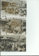 06 NICE Lot De 3 Cartes Carnaval , Circulé Avec Timbre Exposition Coloniale 1931 40c - Carnaval