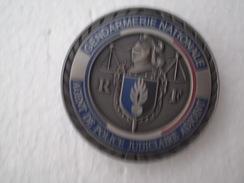 Insigne Gendarmerie Agent De Police Judiciaire Adjoint,état Neuf - Police