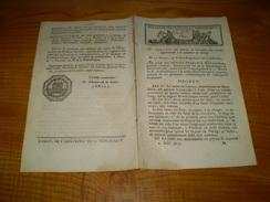 Lois An X :Terrain Cernay,Voreppe,Coussey,Laure,Flammerans,Nemours,Franxault,St Sever.Pont Balignicourt.... - Decrees & Laws