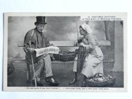 CPA (72) Sarthe - 15 Costumes Sarthois, Le Père Quéru Et Maîtresse Chantepie - Zonder Classificatie