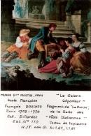 """PHOTO   MUSEE Bon MARTIN, GRAY   Ecole Francaise   Francois BOUCHER   1703-1770   """"Le Galant Colporteur"""" - Cartes Postales"""